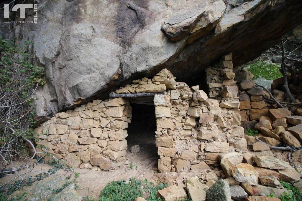 Antiche abitazioni dei pastori.