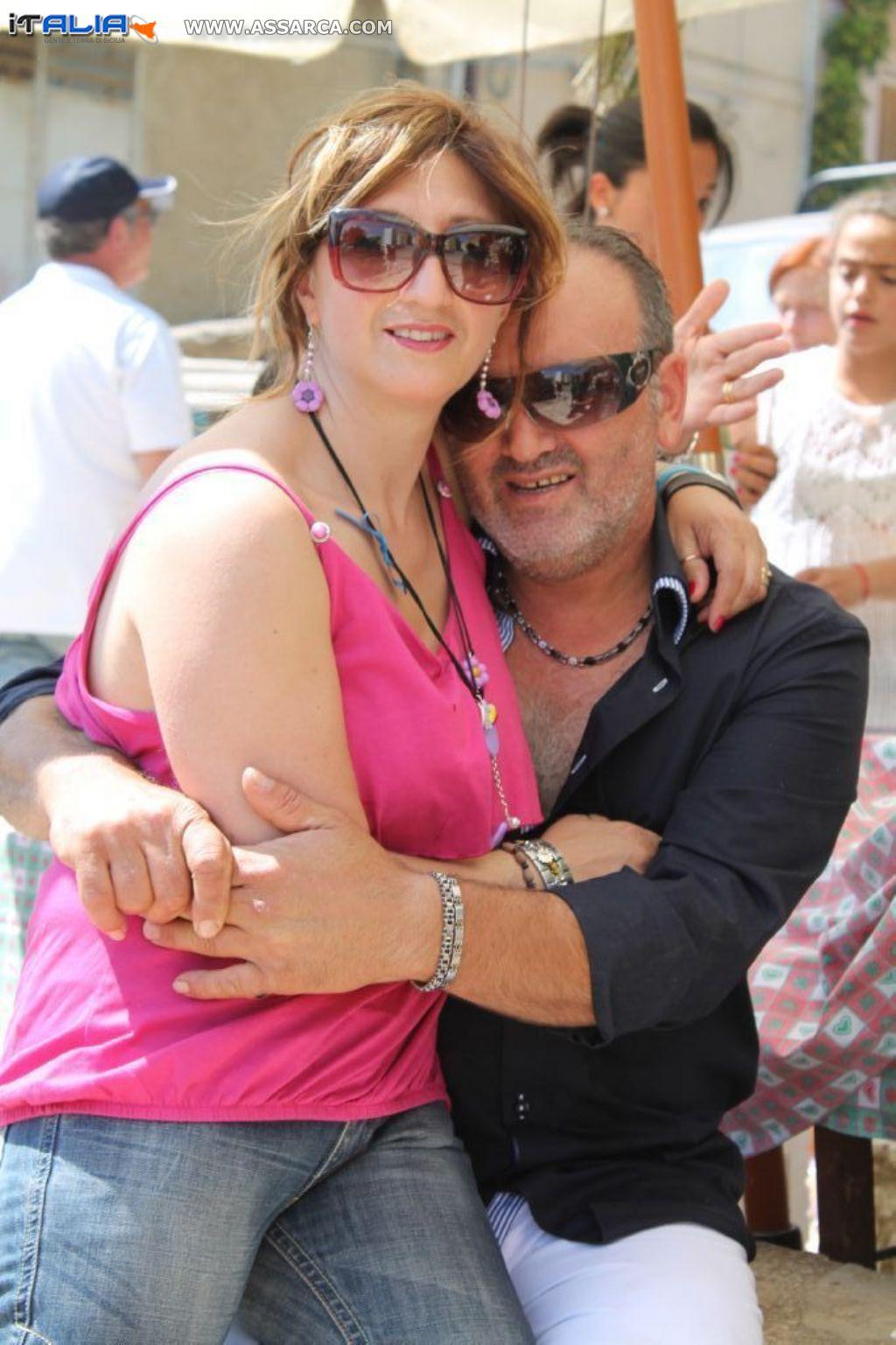Enzo e Cettina estate 2013