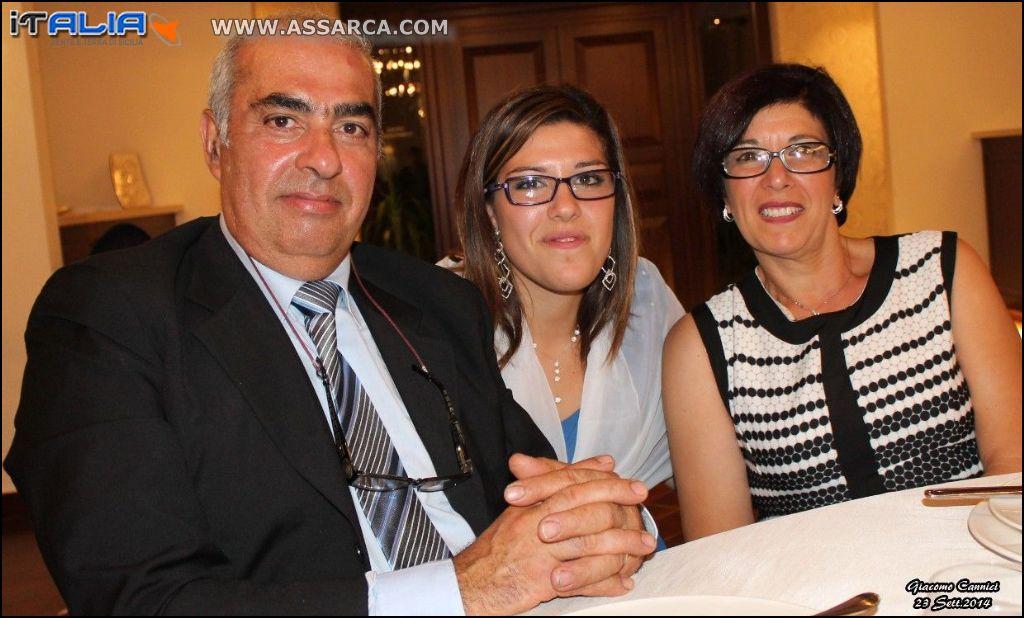 Antonio, Valeria e Rosa
