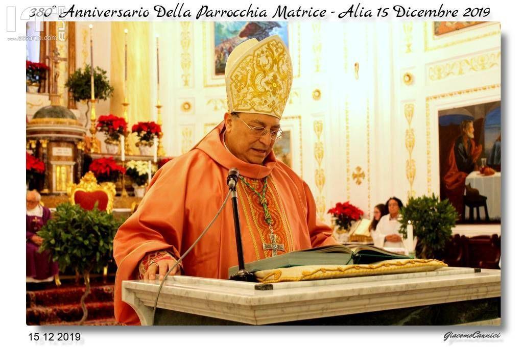 S.E.R. Mons. Giuseppe Marciante - Alia 15 Dic.2019