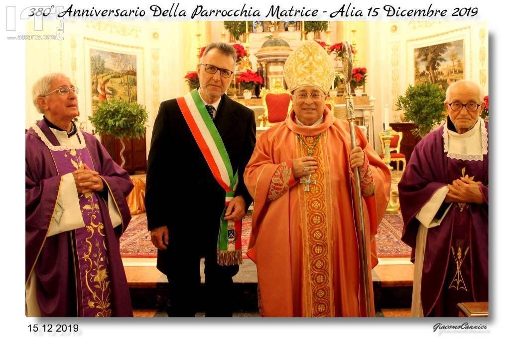 380°Anniversario Della Parrocchia Matrice - Alia 15 Dic.2019