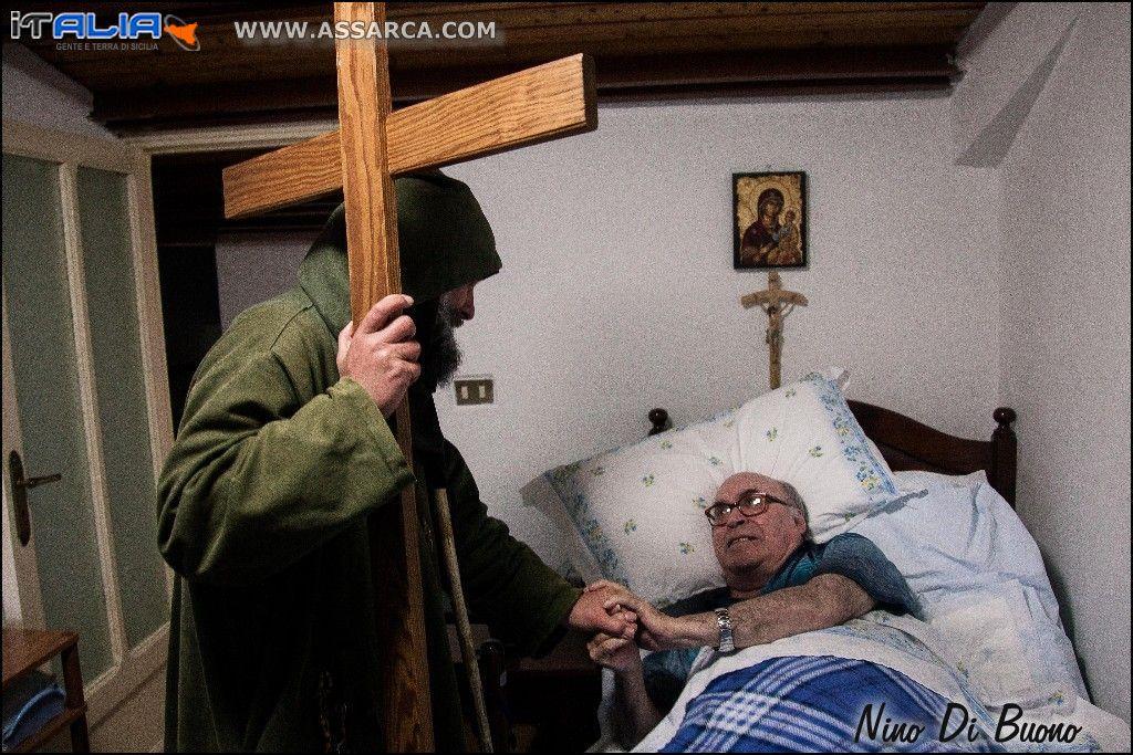 Biagio Conte con Padre Rosolino La Mendola