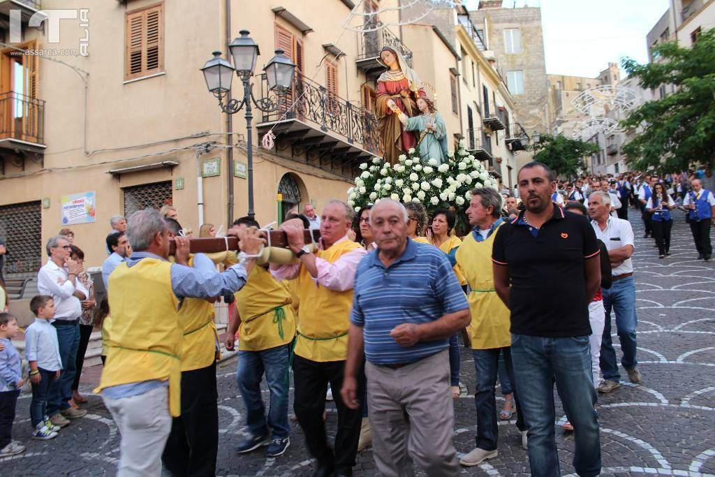 Processione di Sant`Anna,anno 2015