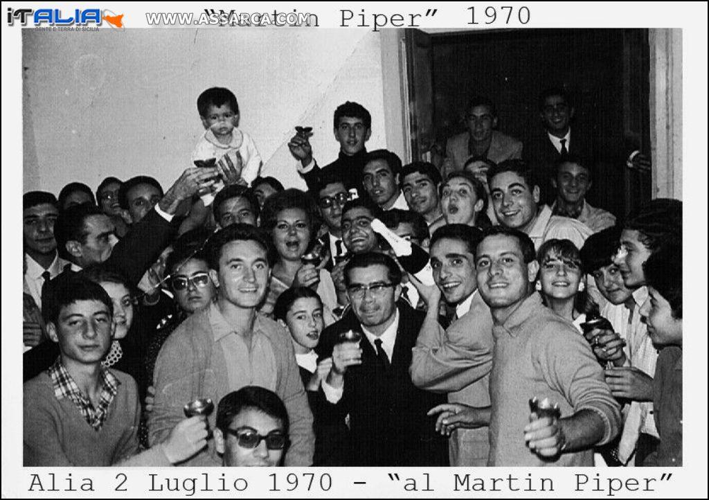 """Tutti al """"Martin Piper"""" 1970"""