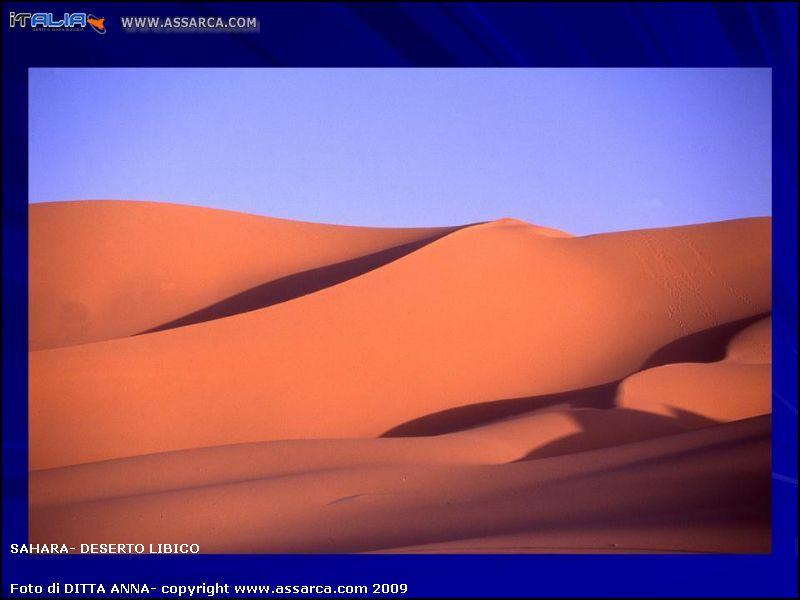 SAHARA- deserto Libico
