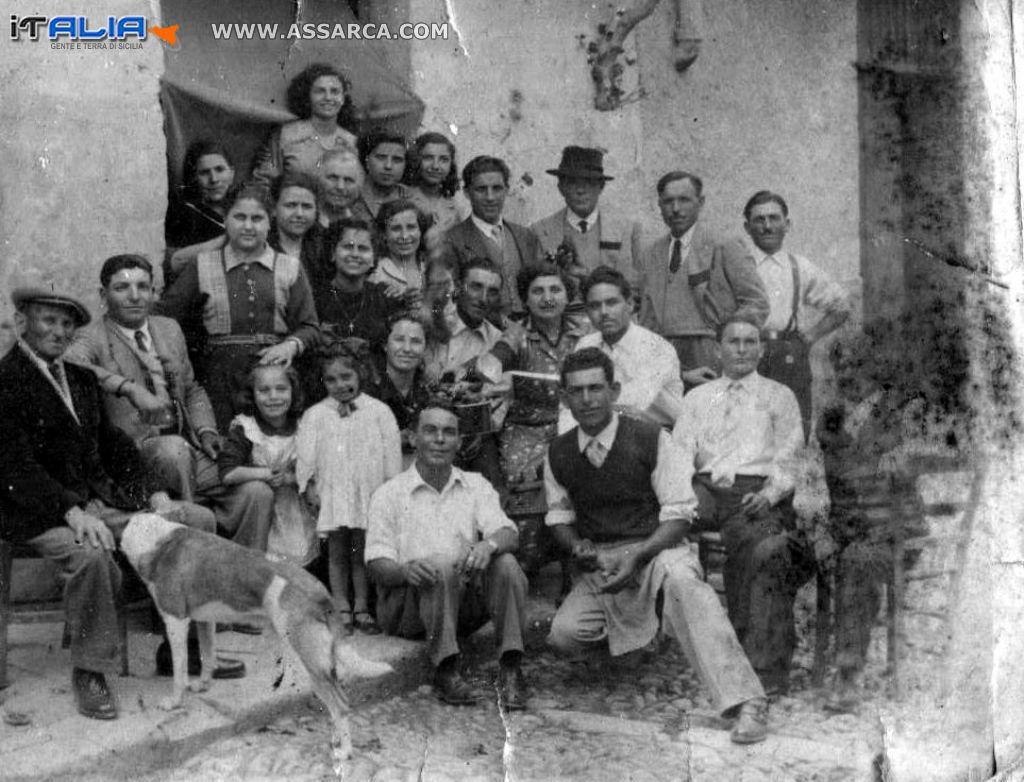 Famiglia Tripoli / Randazzo anni 40/50