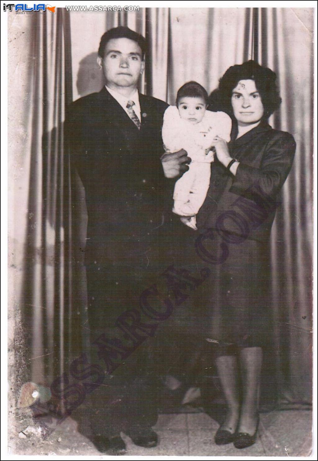 Matrimonio Di Marco Rosaria e Salamone Vincenzo Maggio 1965
