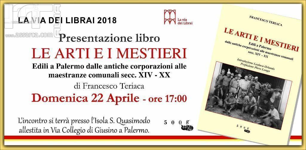 Invito alla lettura - La via dei librai - Palermo capitale italiana della cultura 2018