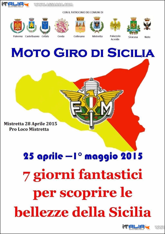 MOTO GIRO DI SICILIA