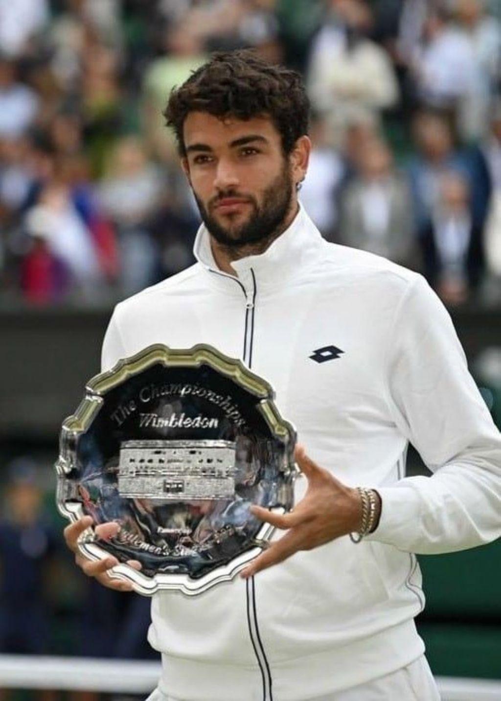 Matteo Berrettini - Campione di oggi - Campione di domani... (foto web)