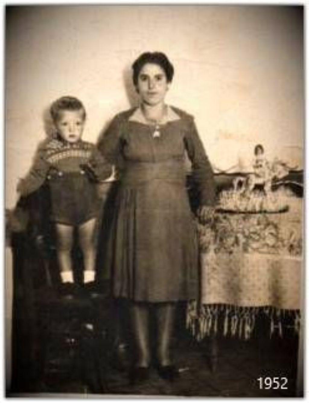 Nino Mazzarisi e la sua cara Mamma Anna Maria