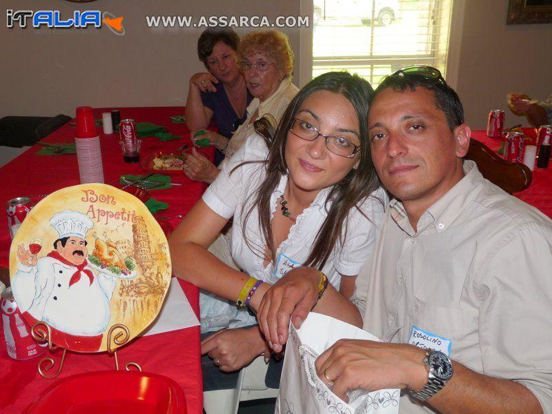 Lia e Rosolino Ortolano visitano Baton Rouge