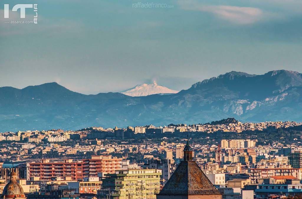 Etna vista da Palermo