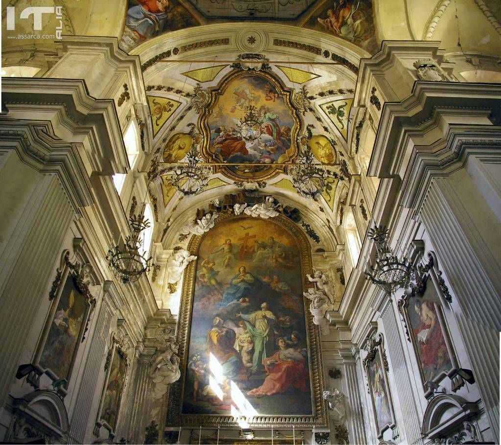 Palermo chiesa S. Ninfa dei Crociferi presbiterio