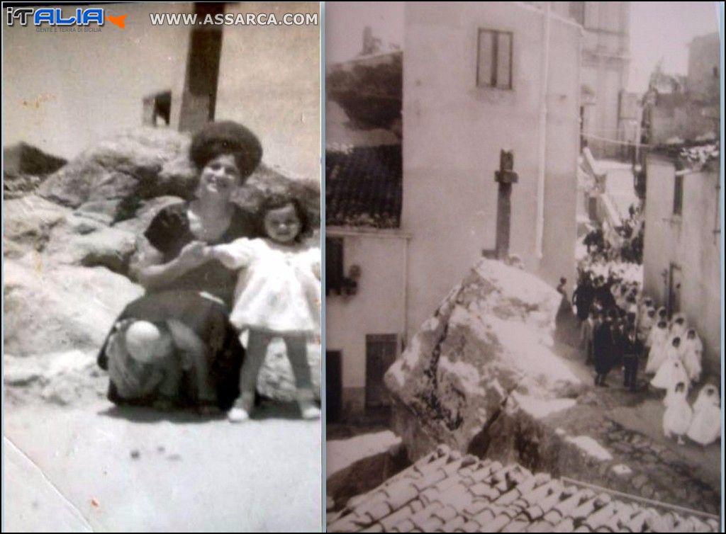 La Croce di Pietra negli anni 50