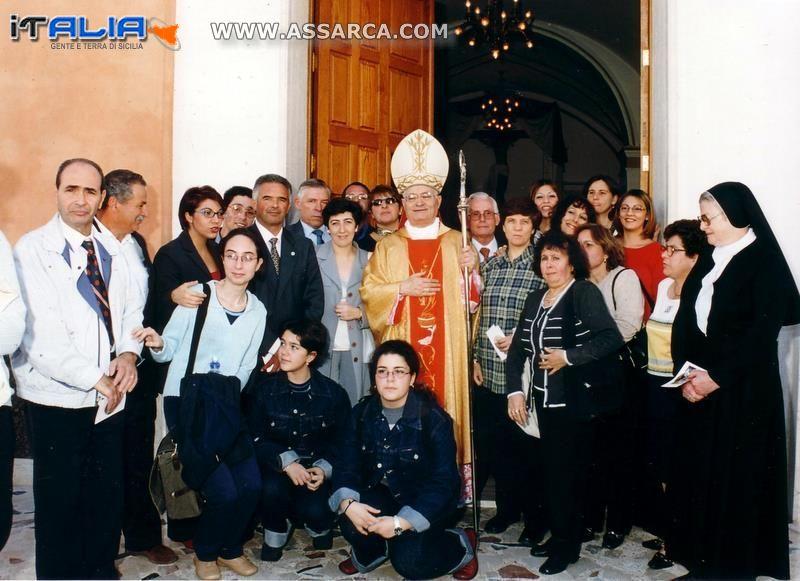 Visita del Cardinale De Giorgi