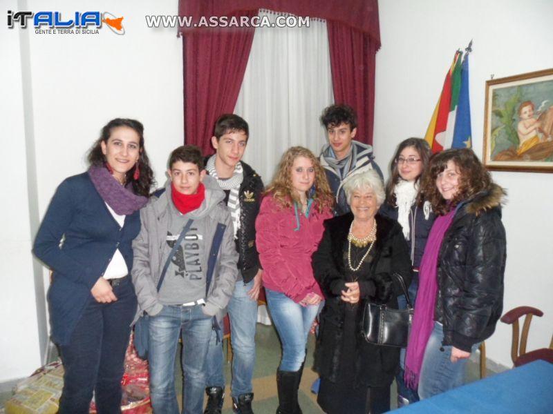 Giovani aliesi incontrano Fulvio Frisone