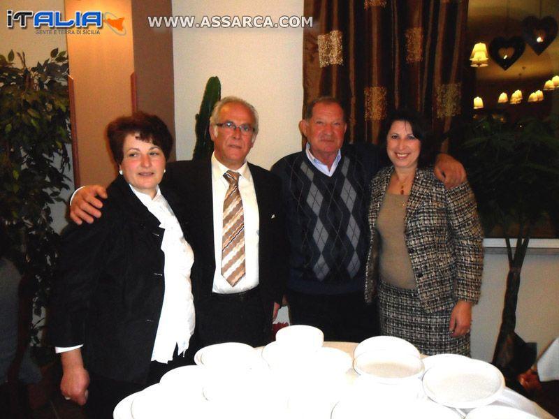 Lina, Calogero, Salvatore e Giovanna.