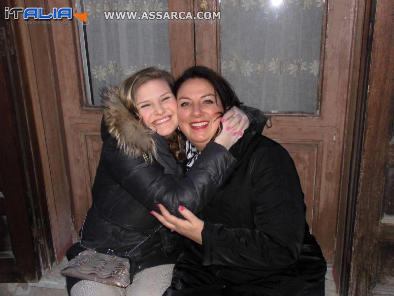 Cylia e Rosanna Noordam-Falcone