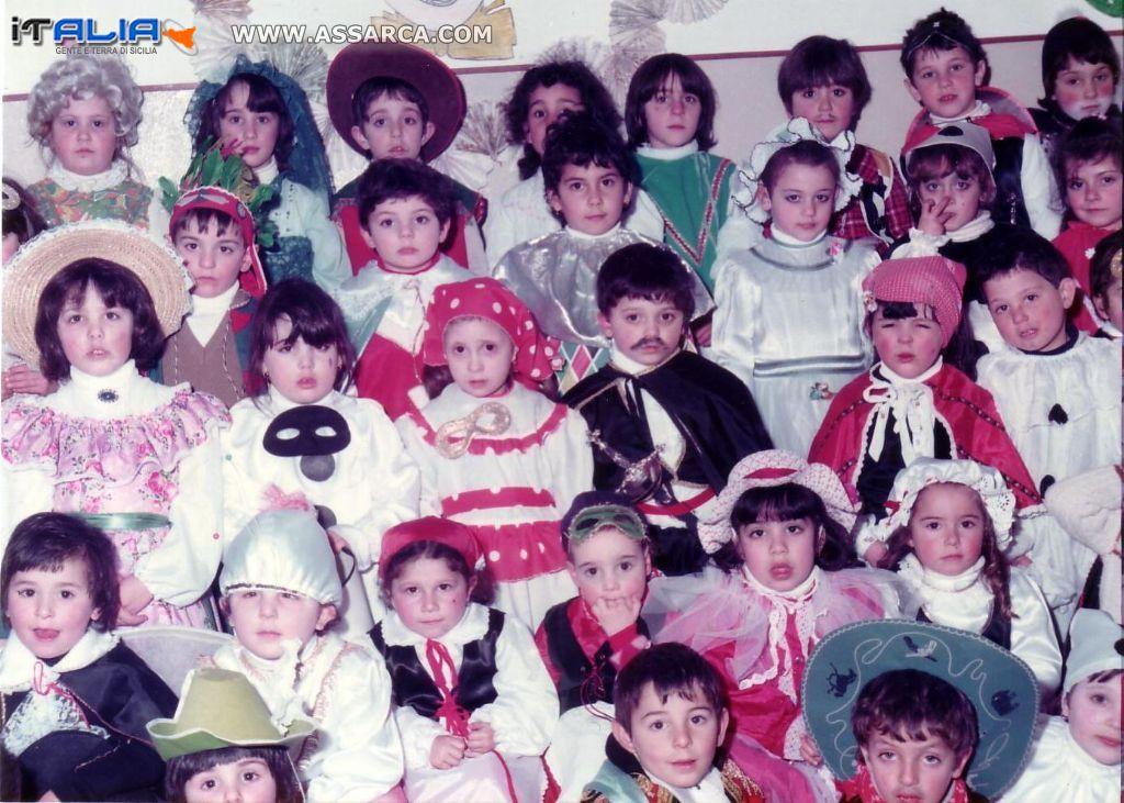 Carnevale all`Asilo  anni 80