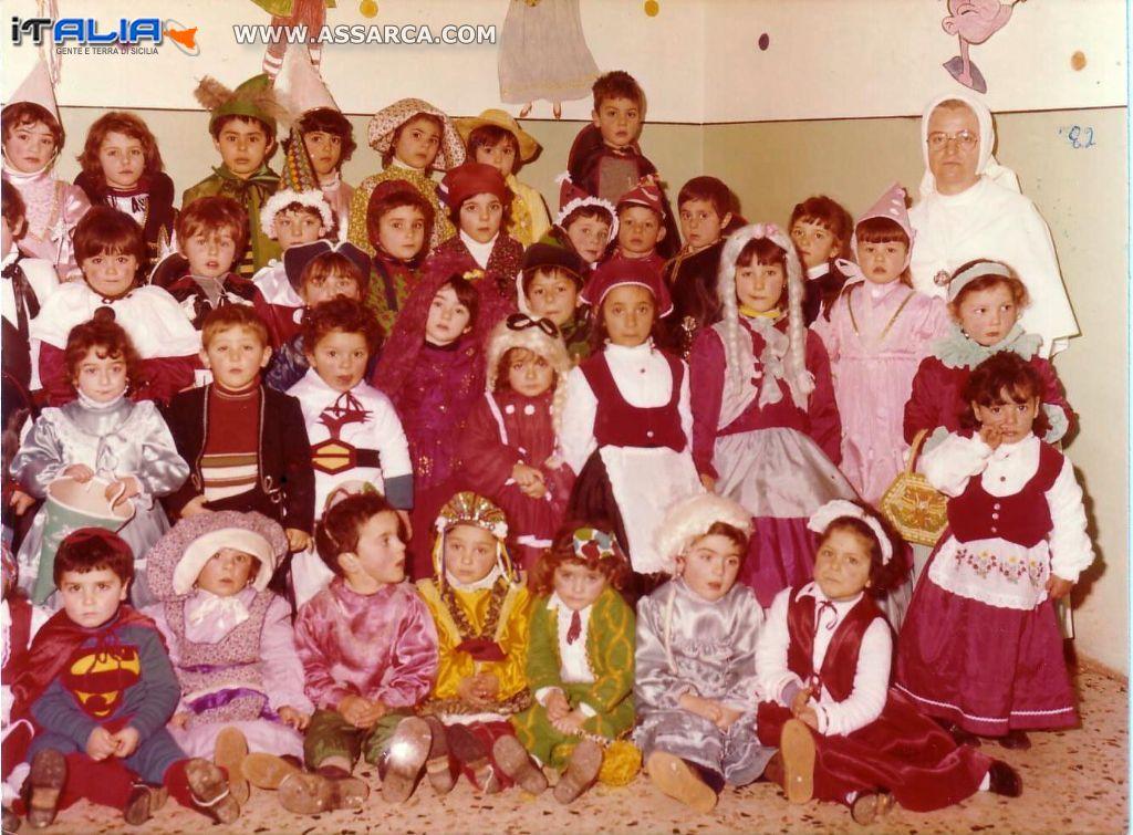Carnevale primi anni del 1980