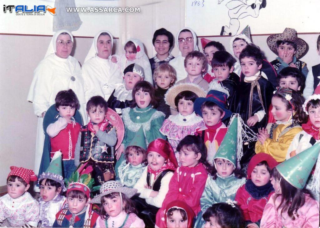 Carnevale all`Asilo dalle Suore - anni 80