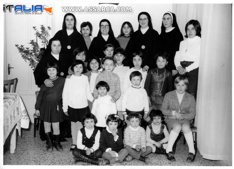Il gruppo delle Suore negli anni 70