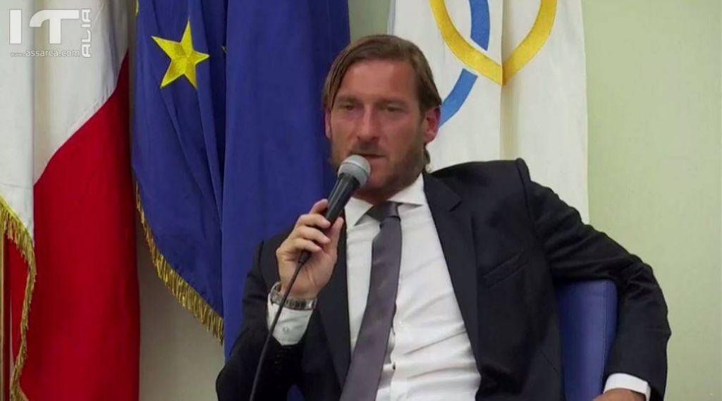 Francesco Totti, addio alla Roma: in diretta la conferenza stampa - fonte: R - La Repubblica