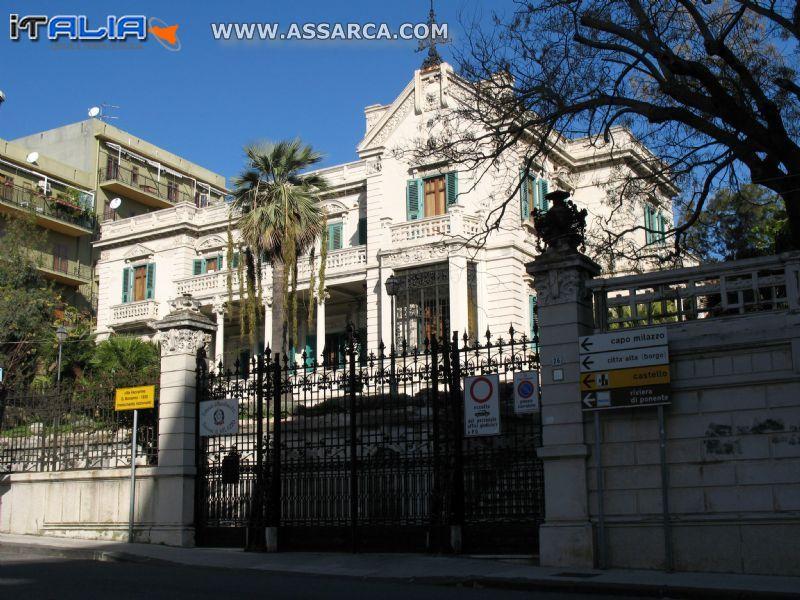 Milazzo Villa Vaccarino - G.Bonanno - 1930 (monumento nazionale)*