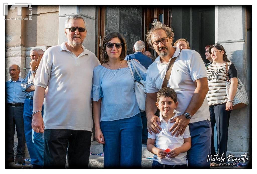 Con Loredana - Mario e Matteo - Alia 2 Luglio 2019