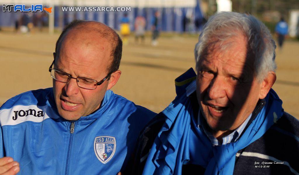 Mario Fricano e Franco Pagano