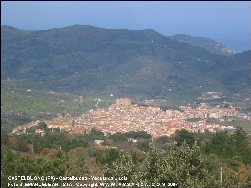 Castelbuono - Veduta da Liccia