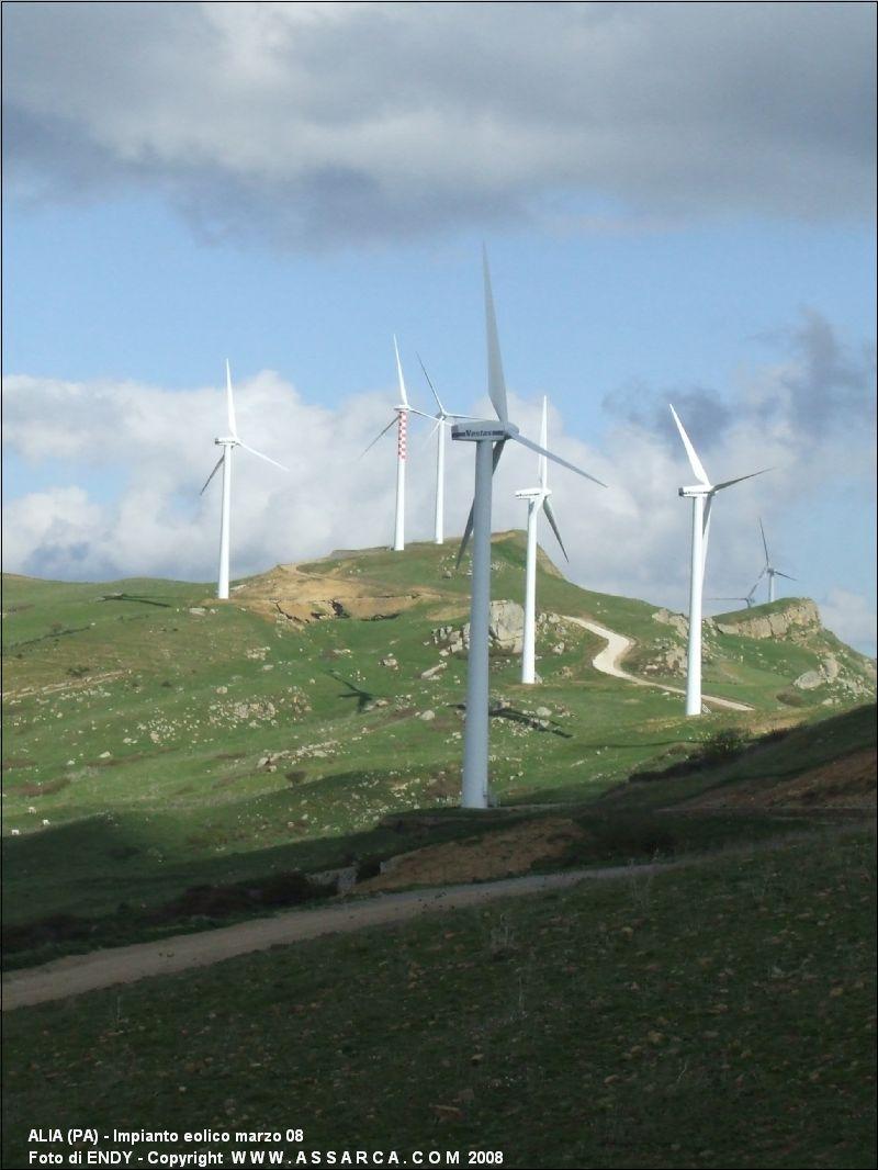 Impianto eolico marzo 08