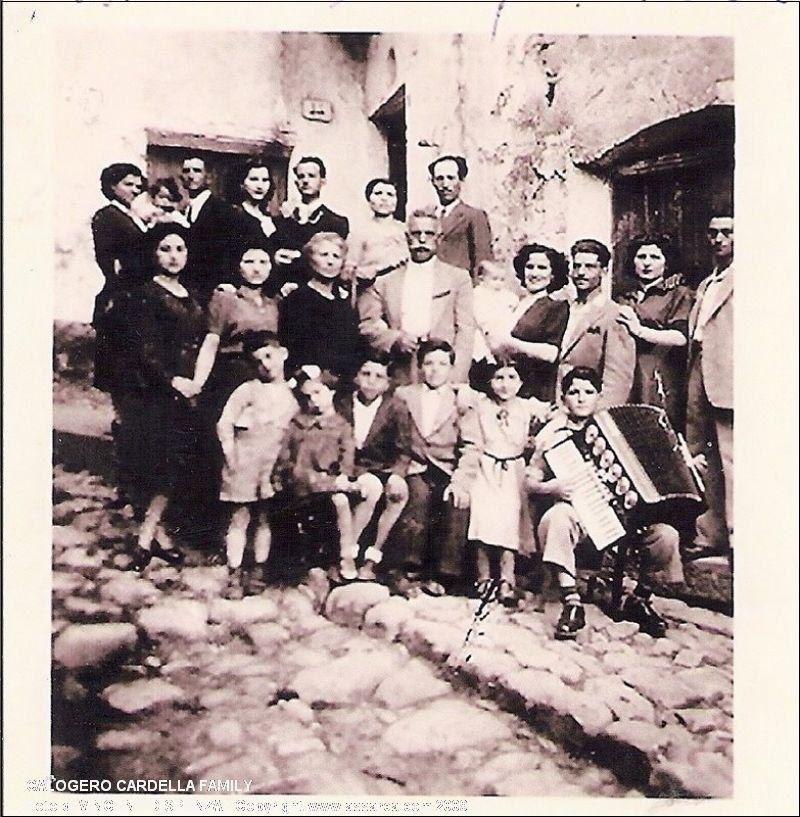 Calogero Cardella Family