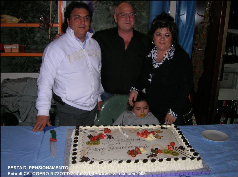 festa di pensionamento