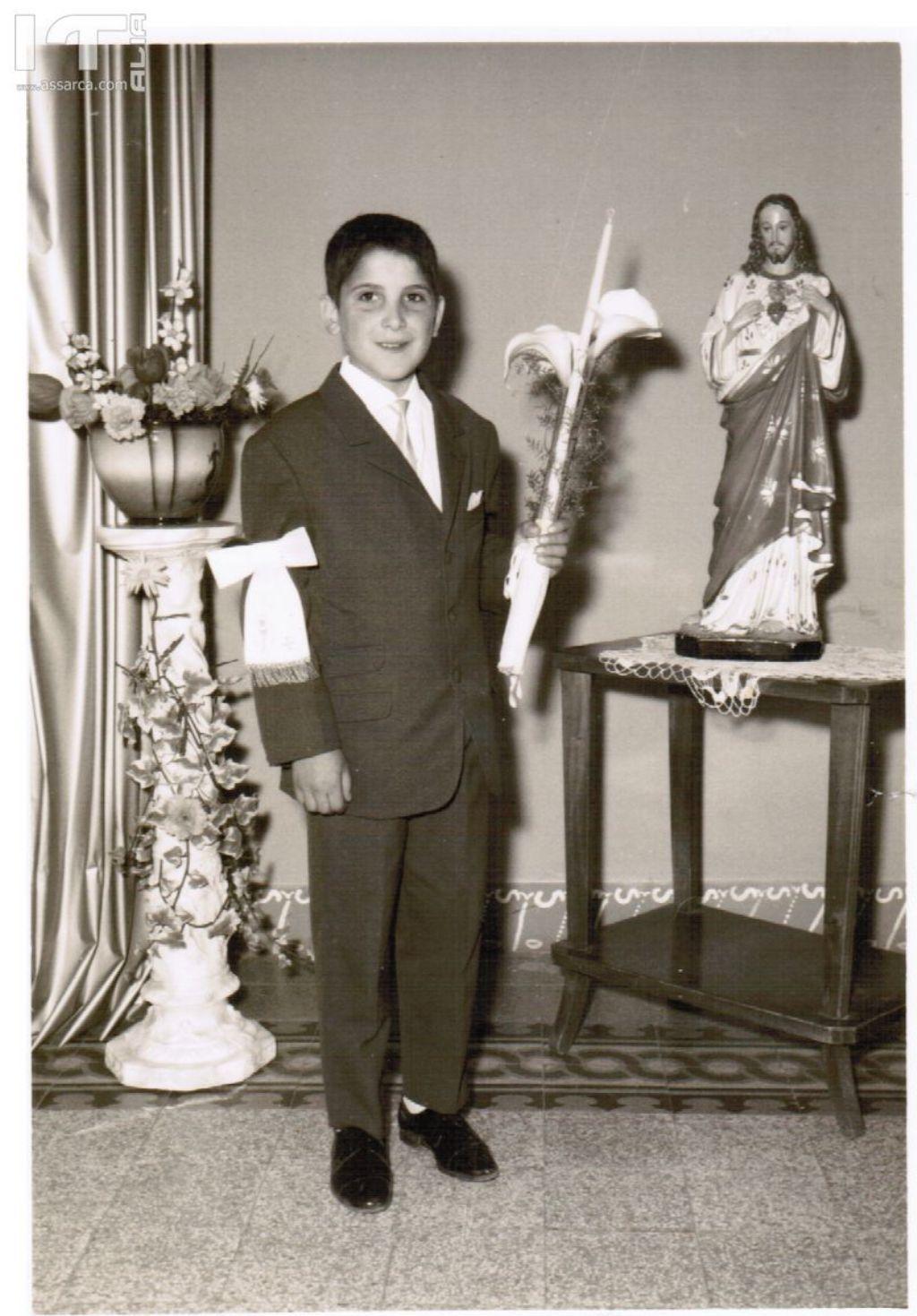 Prima Comunione di Giuseppe Todaro,dai ricordi di Rosa Todaro