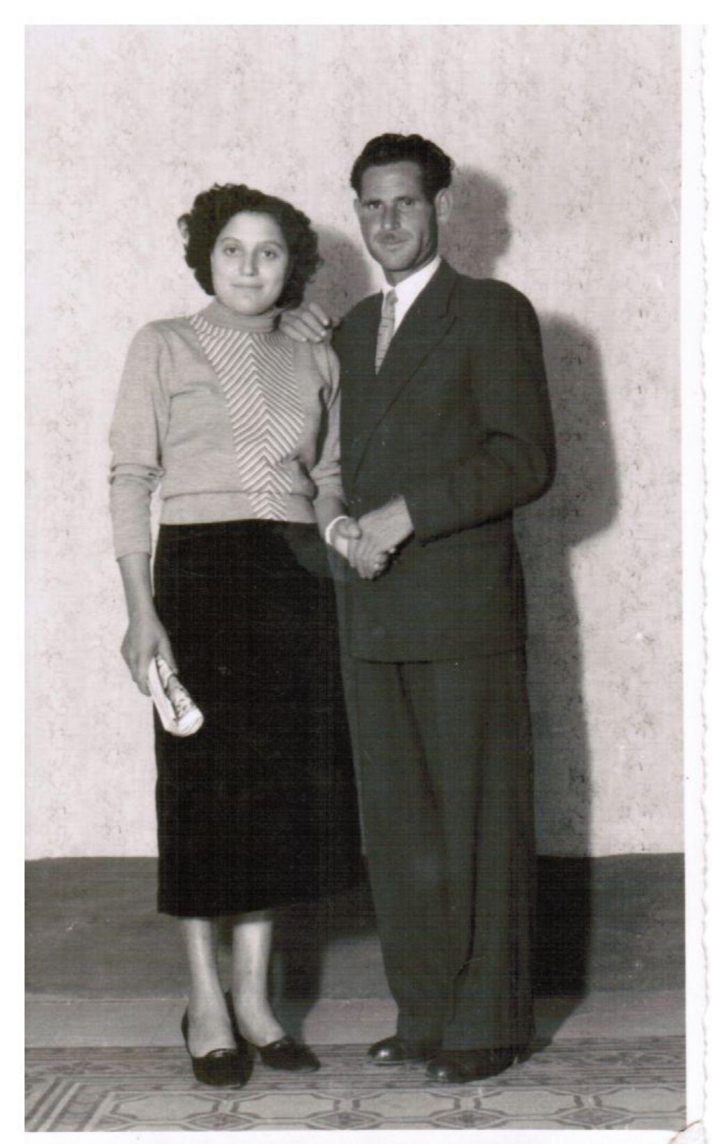 Granata Anna e Centanni Mario. dai ricordi di Rosa Todaro