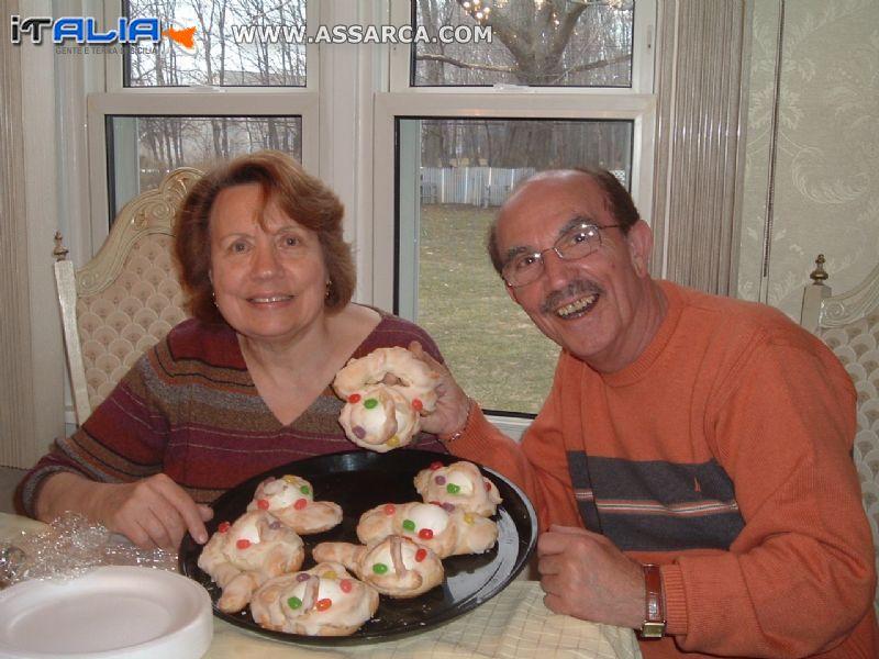 Mia   Sorella   Rosa    e   Pietro   Costanza (marito)
