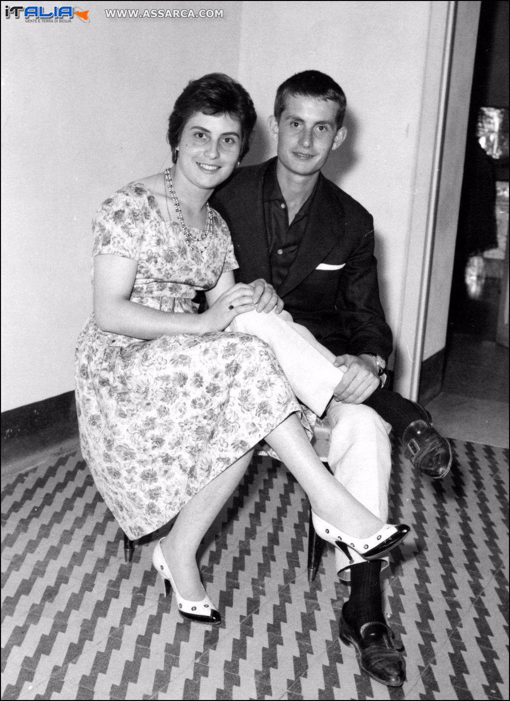 Con mia sorella Tina - fine anni 50