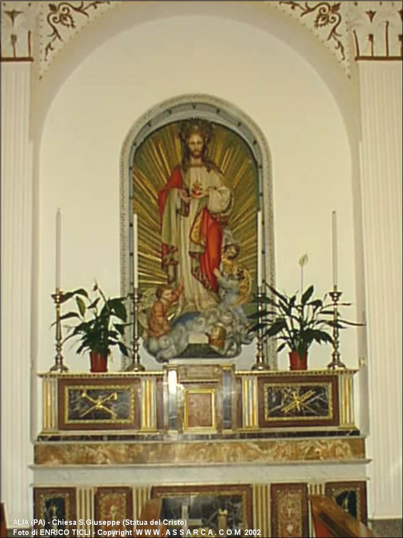 Chiesa S.Giuseppe (Statua del Cristo)