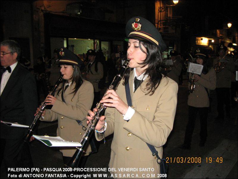 PASQUA 2008-PROCESSIONE DEL VENERDI SANTO