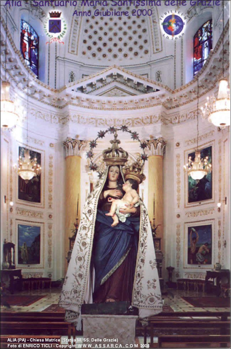 Chiesa Matrice (Statua M. SS. Delle Grazie)