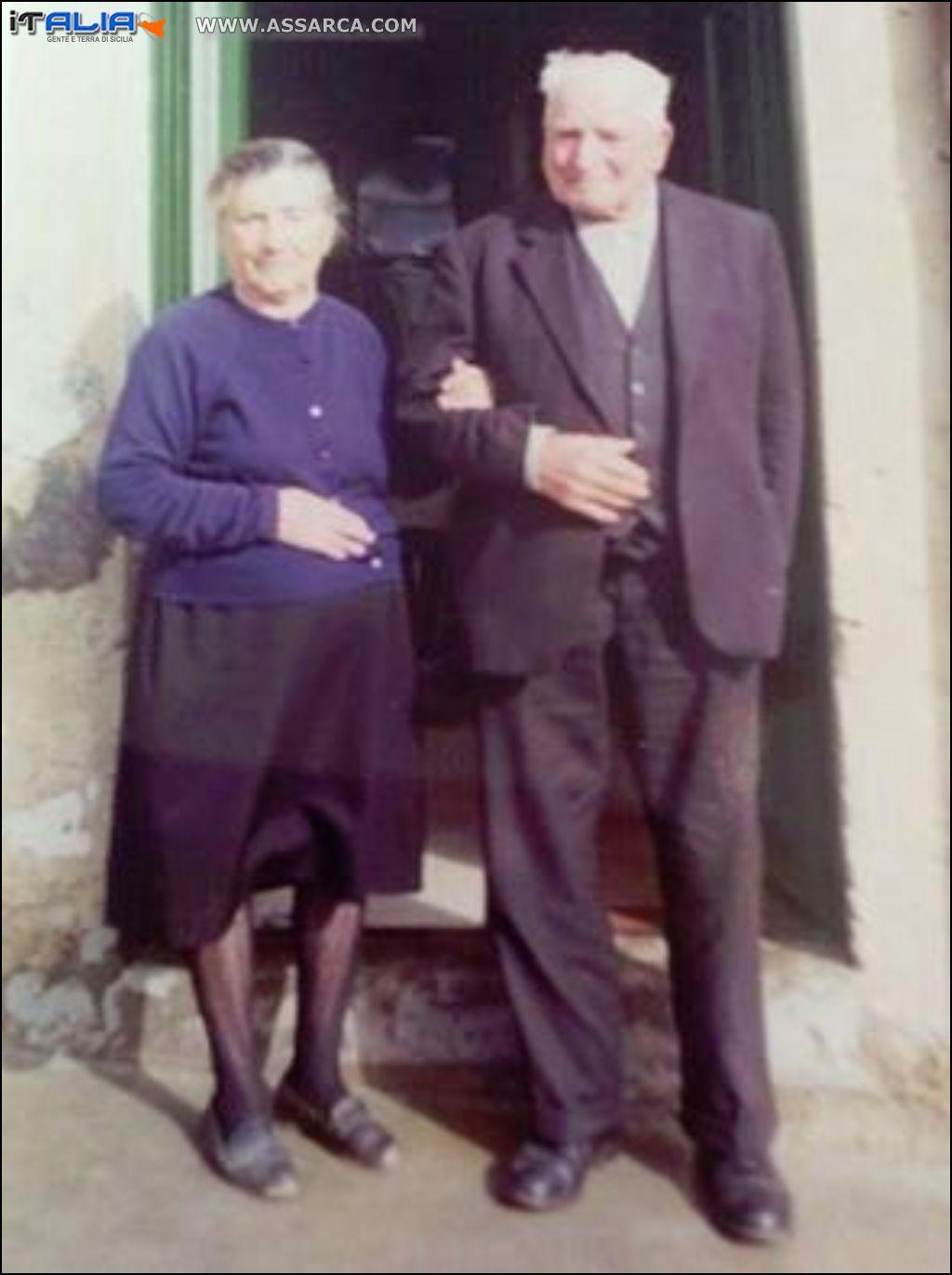 Barcellona Angela e Giuseppe Centanni  1971