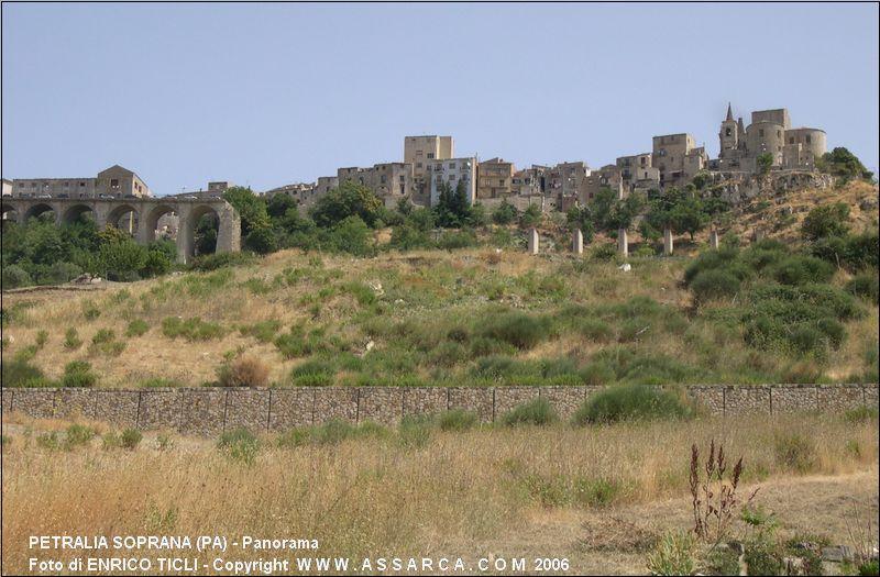 Panorama di Petralia Soprana