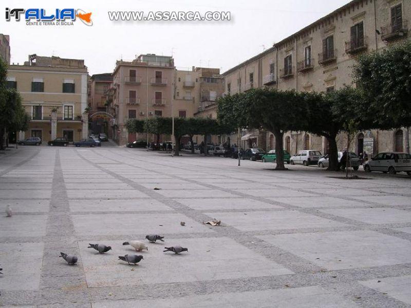 Piazza Cavour di Favara (AG)