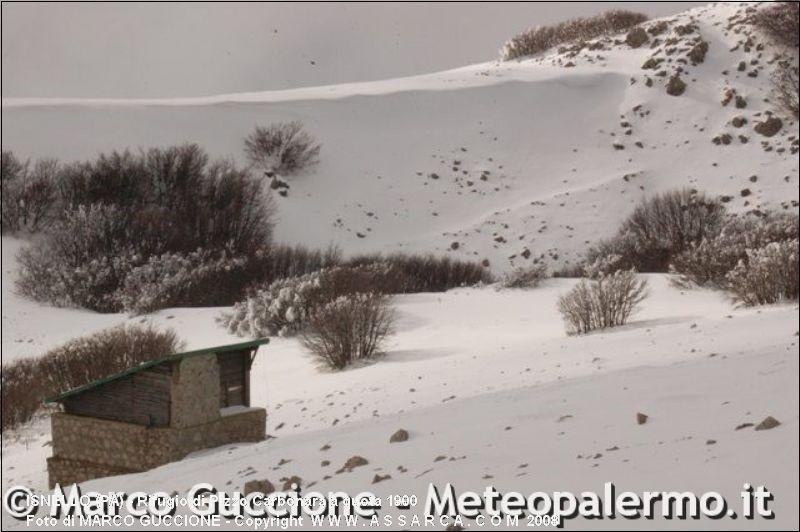 Rifugio di Pizzo Carbonara a quota 1900