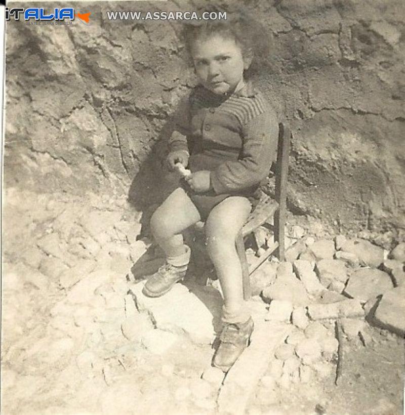 Alia-1950-51 La mia merenda-un pezzo di pane